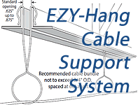 EZY-Hang Cable Support System