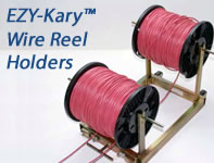 EZY-Cary Wire Reel Holders