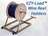 EZY-Load Wire Reel Holders