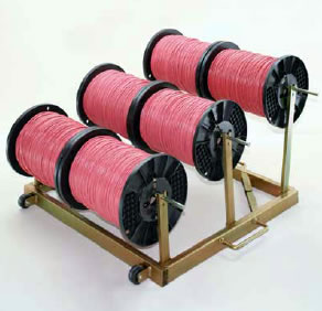"""King Size"" Easy-Kary Wire Reel Holder"
